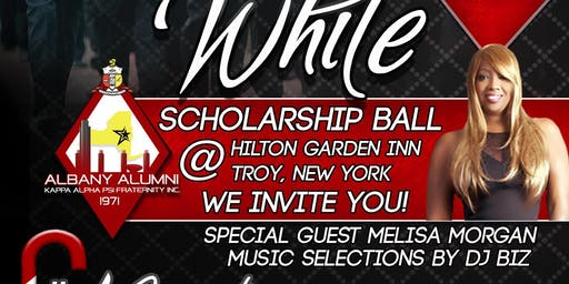2019 Black and White Scholarship Ball featuring R&B Artist Meli'sa Morgan