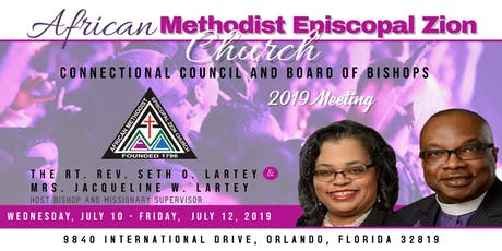 AME Zion Connectional Council & Board of Bishops Meeting tickets