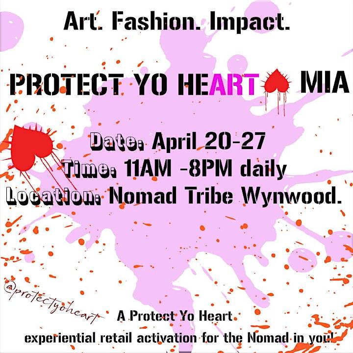 Art x Fashion x Impact: Retail Activation  with Nomad-Tribe Wynwood image