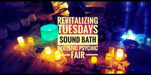 Sound Healing Bath Light Meditation for Activation Holistic Psychic Fair
