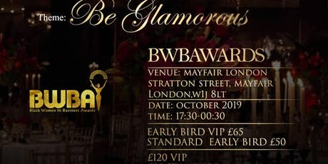 Black Women In Business Awards 2019 tickets