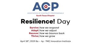 ACP South Texas RESILIENCE! Day