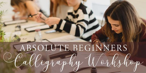 REDUCED PRICE! Absolute beginners modern calligraphy workshop in Manchester