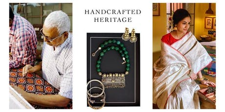 Handcrafted Heritage - Rare Handwoven Textile & Silver Jewellery tickets