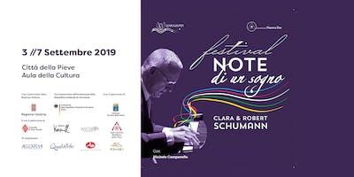 Festival Musicale con M. Campanella | Note di un Sogno | Clara e Robert Schumann