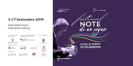 Festival Musicale con M. Campanella | Note di un Sogno | Clara e Robert Schumann biglietti