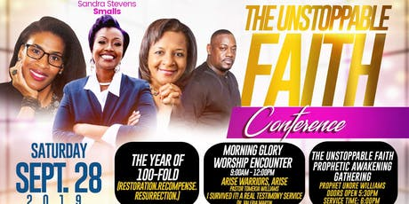 The Unstoppable Faith Conference 2019 tickets