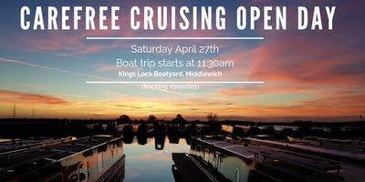 Carefree Cruising April Open Day