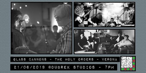 Glass Cannons, The Holy Orders, Verona at Dubrek Studios