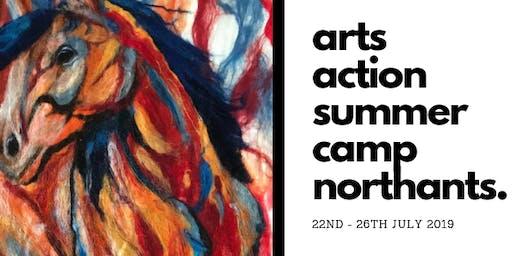 Arts Action Summer Camp Northants: Childrens Art