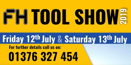 FH Tool Show 2019 tickets