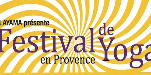 Festival de Yoga en Provence 2019