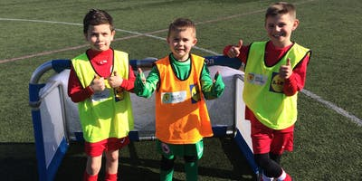 SAFC Football Classes 5-6 Year Old - the Peak, Stirling
