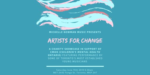 Michelle Newman Music Presents the 3rd Annual Artists For Change