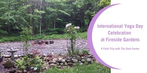 International Yoga Day Celebration at Fireside Gardens
