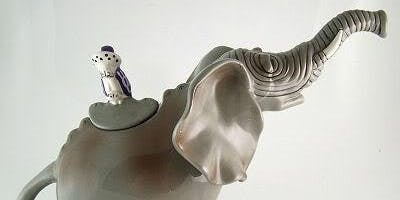 Saturday Sculpture - Elephant Teapot