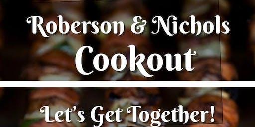Roberson/Nichols Cookout