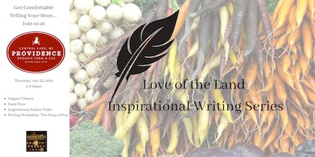 Love of the Land July Writing Workshop tickets