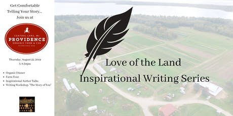 Love of the Land August Writing Workshop tickets