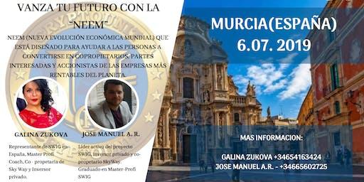 Te invitamos a nuestro evento de SWIG en MURCIA.