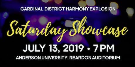 Harmony Explosion 2019: Saturday Showcase tickets