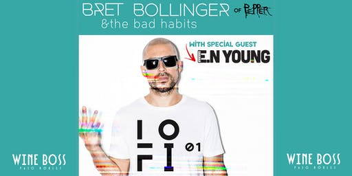 A Pepper Wine Evening with Bret Bollinger and the Bad Habits