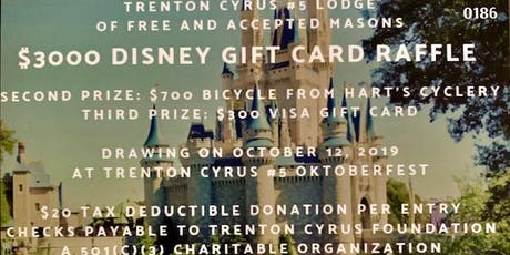 Second Annual TC5 Oktoberfest and Annual Disney Raffle! tickets