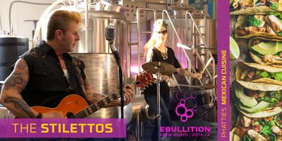 The Stilettos: San Diego Rockabilly and Craft Beer At Its Best At Ebullition Brew Works, Memorial Day Weekend