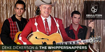 Ameripolitan Music Winner Deke Dickerson & The Whippersnappers (Rockabilly & Country Swing) + BBQ Food Truck At Ebullition Brew Works