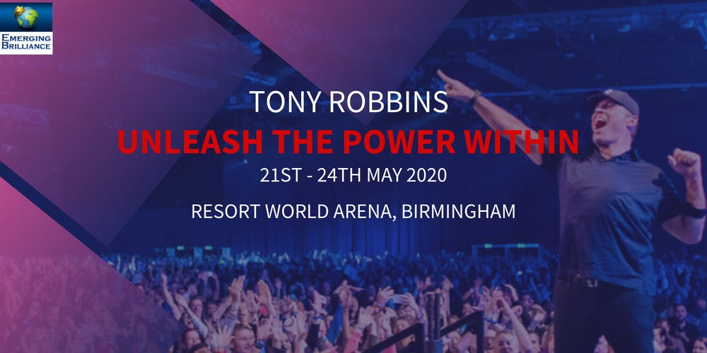 Unleash The Power Within with Tony Robbins Tickets, Thu, May