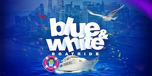 Boom Blue & White Boatride