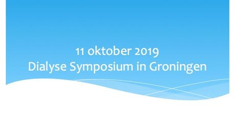 Dialyse Symposium 2019 tickets