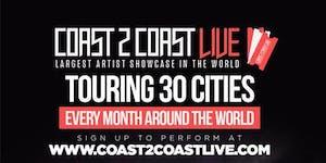 Coast 2 Coast LIVE Artist Showcase Bay Area - $50K...