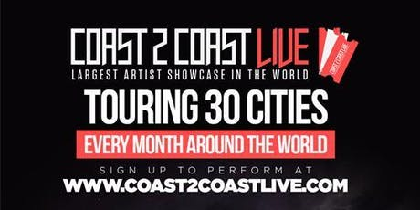 Coast 2 Coast LIVE Artist Showcase Richmond, VA - $50K Grand Prize tickets