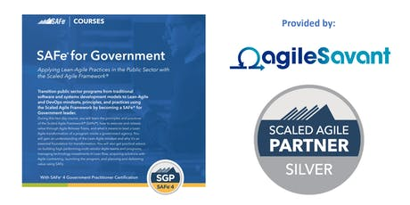 SAFe 4.6 for Government w/ SGP Certification  tickets