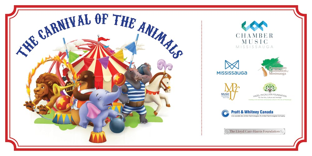 The Carnival of the Animals Tickets, Sat, 21 Sep 2019 at 3