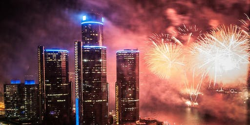 Jon Croel's Annual Detroit Fireworks Party 2019