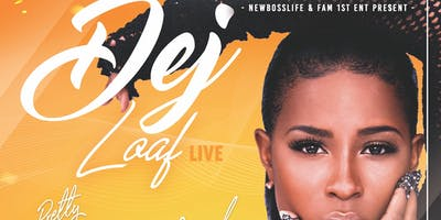 Dej Loaf live at 213 Lux Lounge  Pretty Girls PlayGround