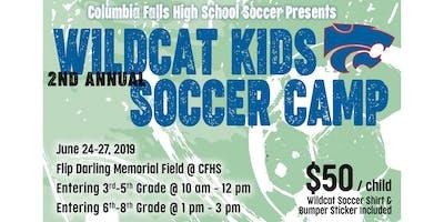Wildcat Kids Soccer Camp - June 24-27, 2019 - Columbia Falls MT