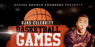 DJH5 Celebrity Basketball Games for Charity