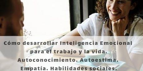 Inteligencia Emocional para el trabajo y la vida. Con 2 sesiones gratis de Coaching individuales por videoconferencia entradas