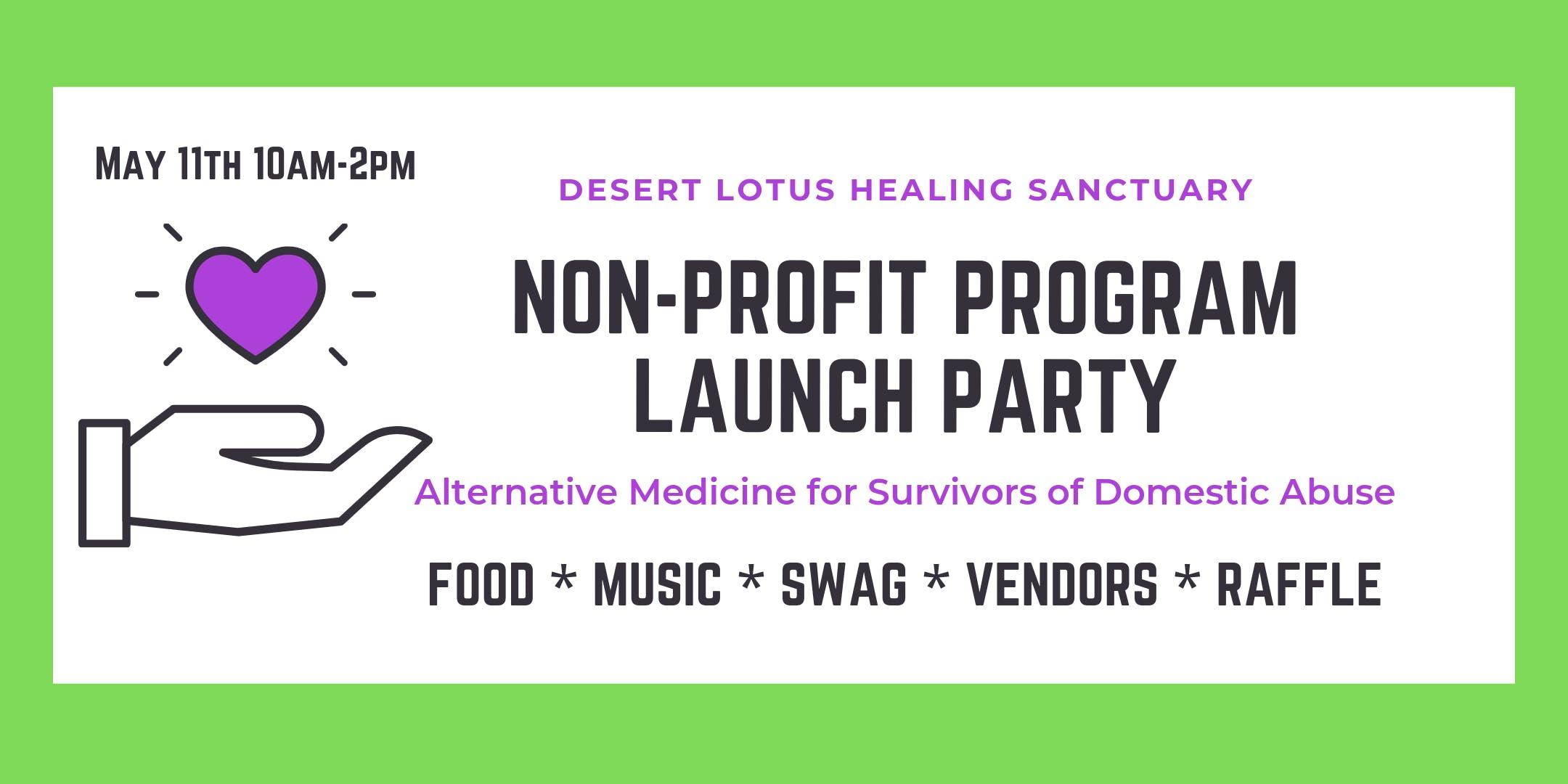 Non-Profit Program Launch Party