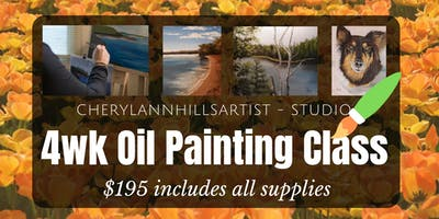 May Oil Painting Class - Saturday Morning