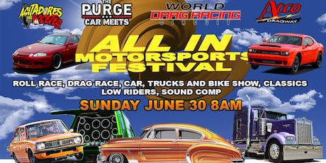 ALL IN Motorsports Festival tickets