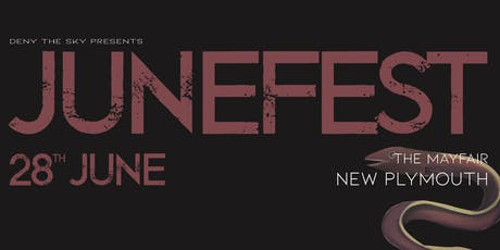 JUNEFEST NZ TOUR - New Plymouth tickets