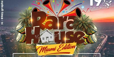 RARA HOUSE *Miami* ft Ted Bounce & Chiwawa LIVE & More | DJ Smoke, Bullet, MagicKenny