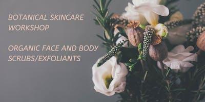 Botanical scrub workshop
