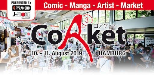 CoAket 03 - Die Künstler- und Verlags-Convention in Hamburg