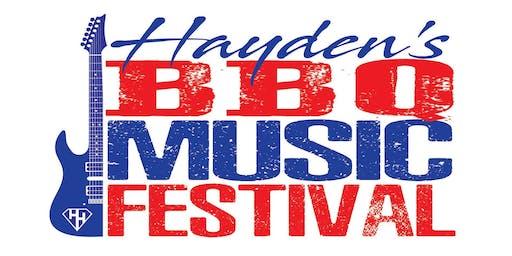 Hayden's BBQ Music Festival