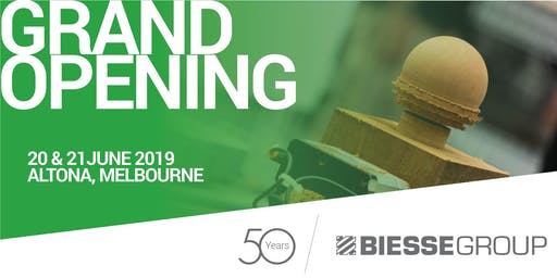 Biesse Melbourne Campus Grand Opening